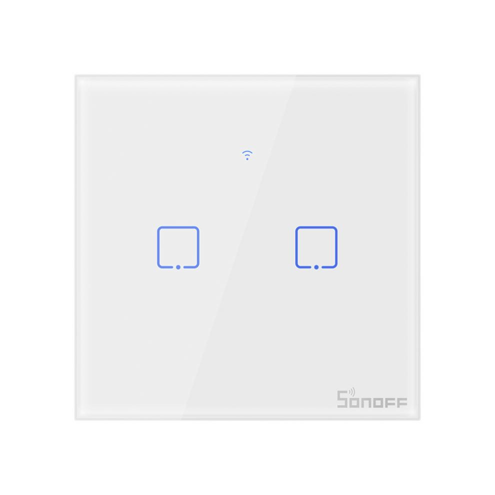 Sonoff T2 UK 2 Gang Switch